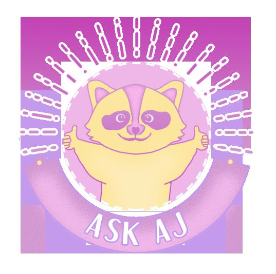 Logo for Ask AJ